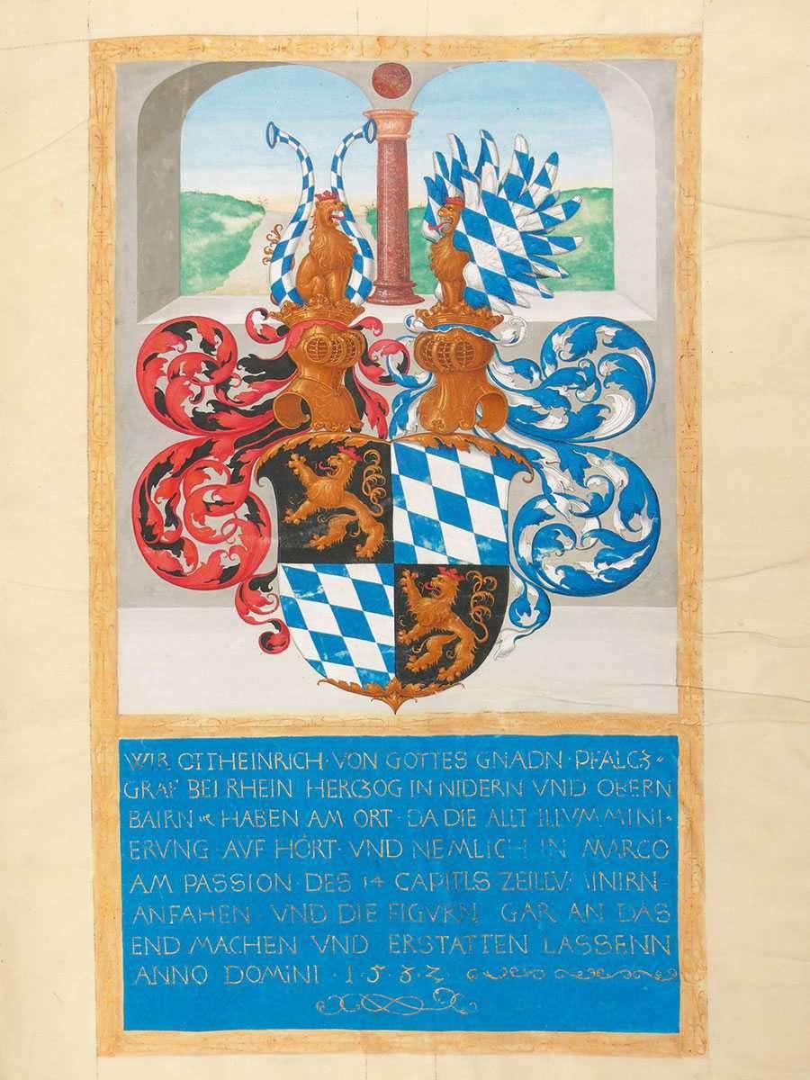 Ottheinrich-Bibel, um 1430