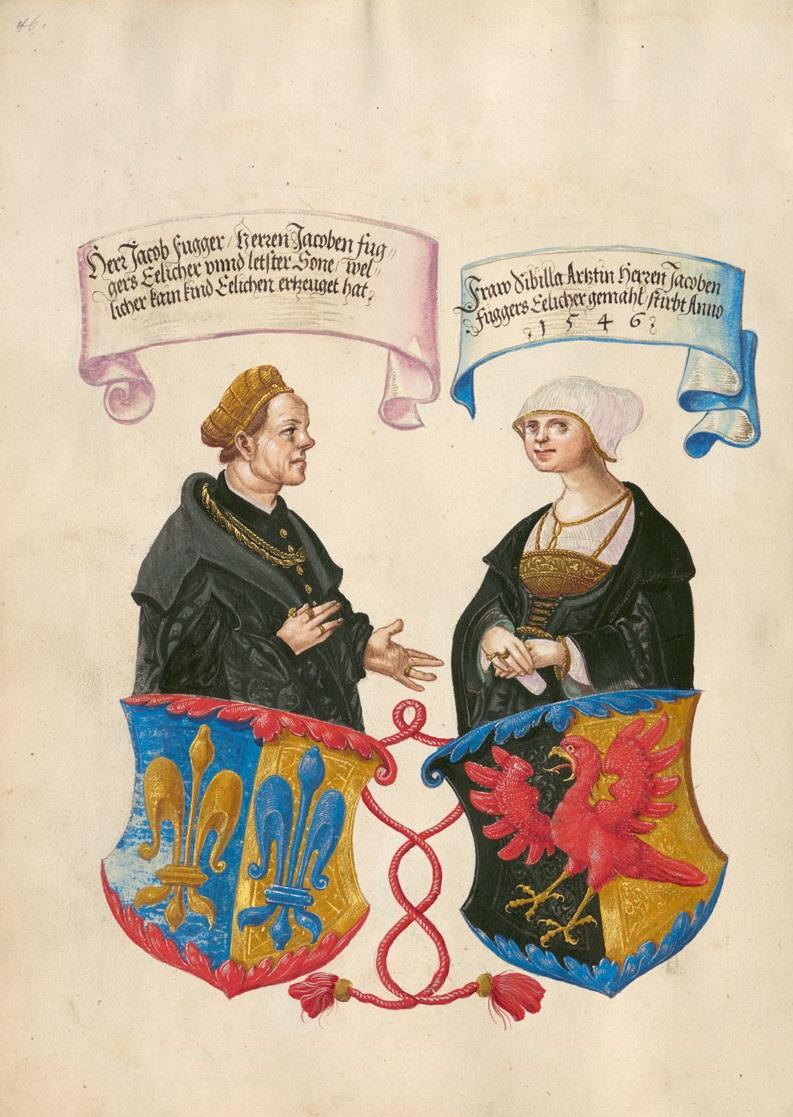 Jörg Breu d. J. und Werkstatt, Geheimes Ehrenbuch der Fugger, 1545–48