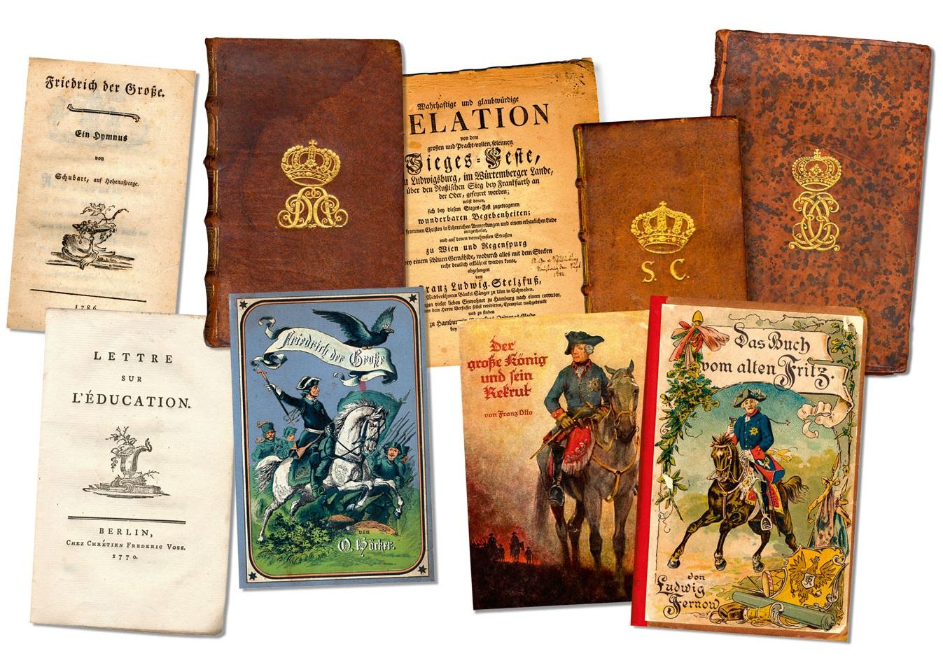 Höhepunkte aus der Bibliotheca Frideriziana des Sammlers Gerhard Knoll