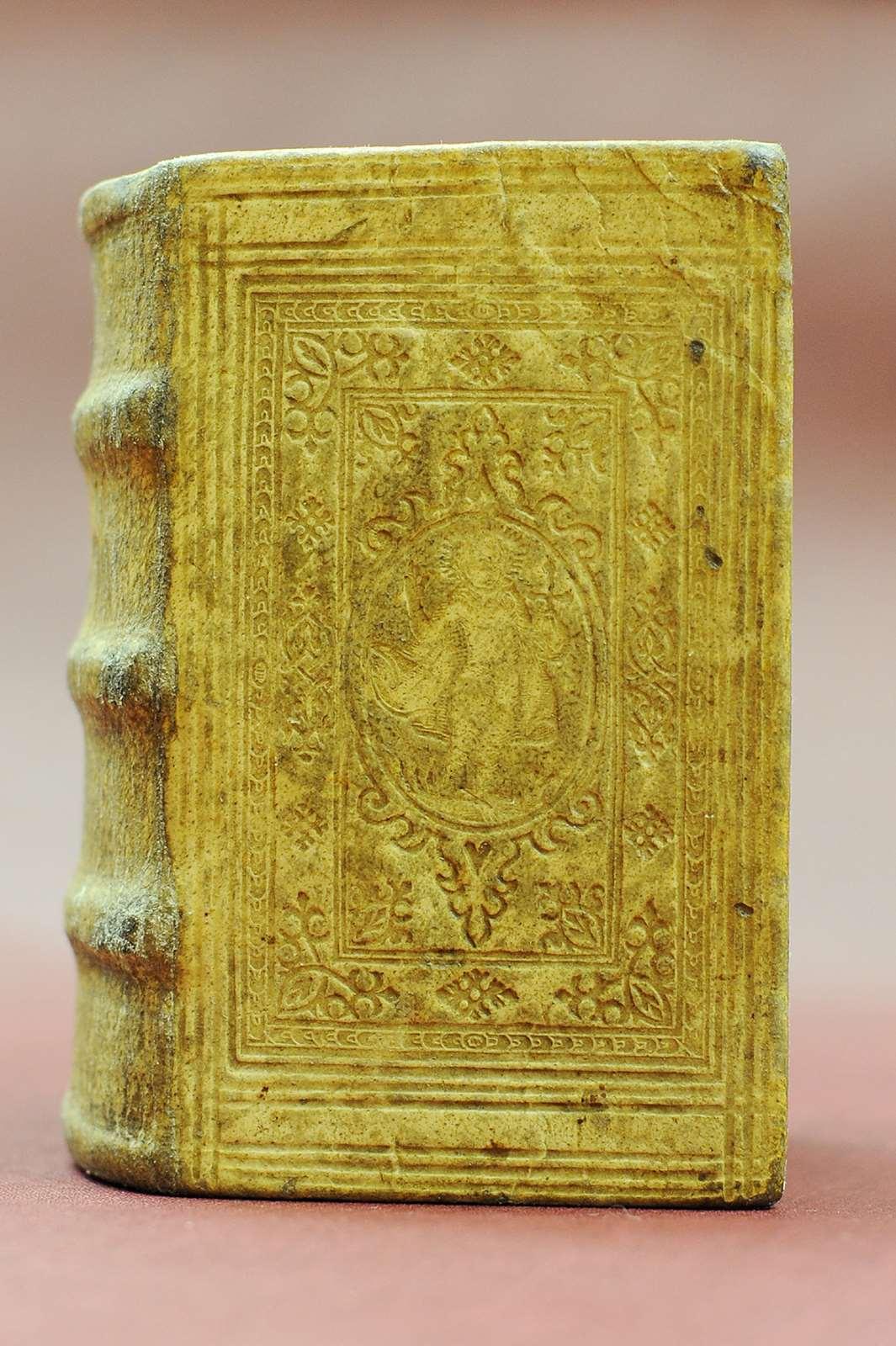 Griechischer Psalter, Straßburg 1524, gedruckt bei W. Köpfel; Foto: Peter Grewer