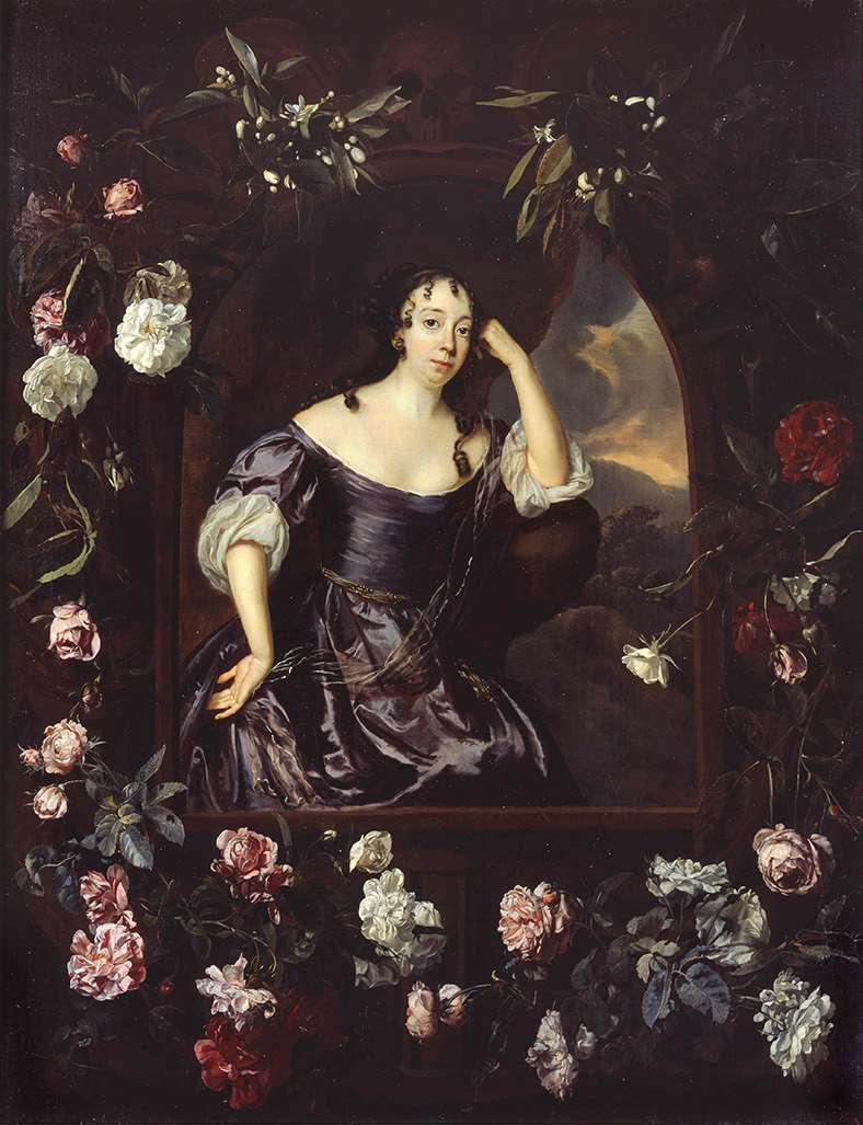 Jan Mijtens, Albertine Agnes von Nassau-Diez, um 1665