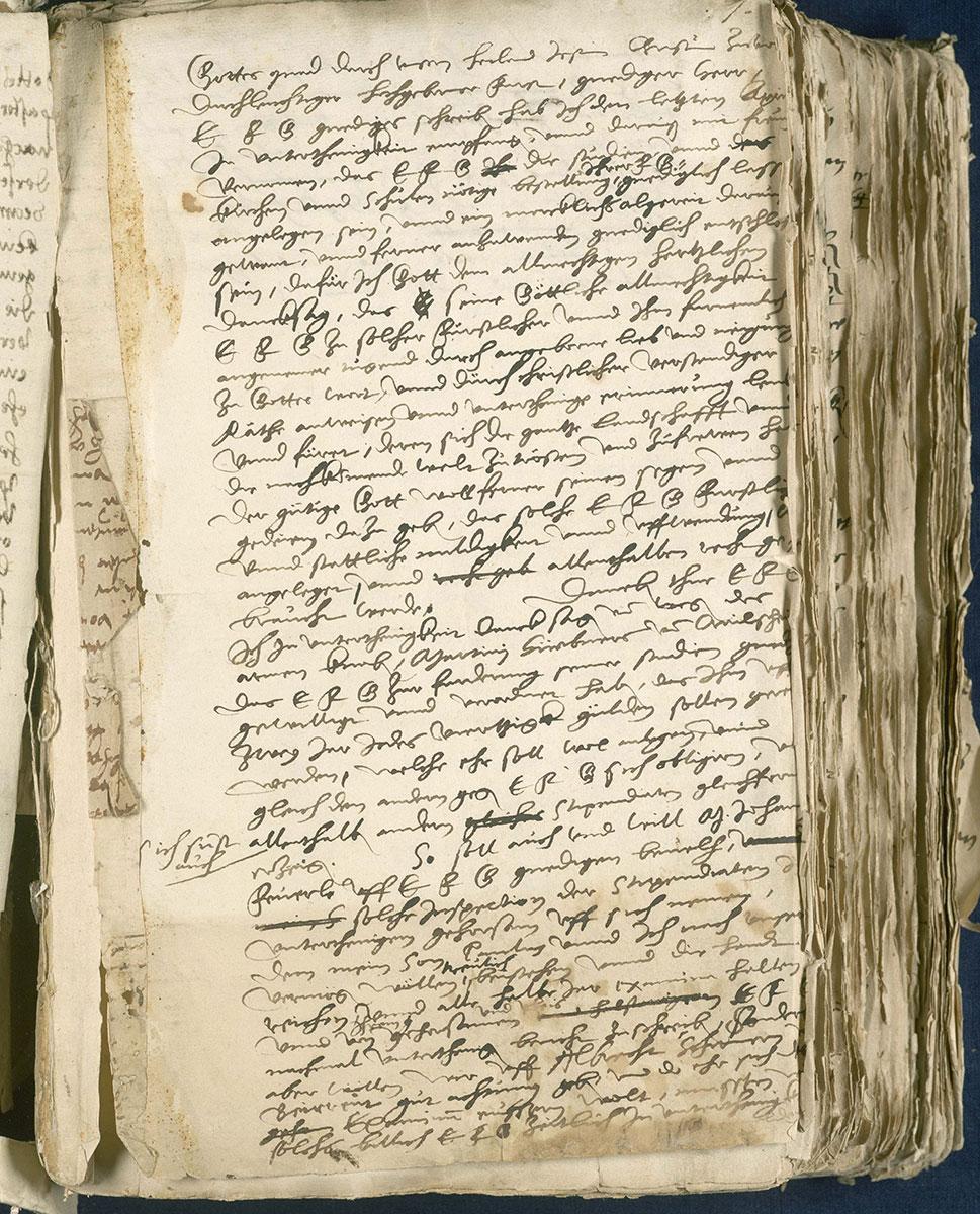 Reformator Paul Eber: Briefwechsel, ca. 1530–1569, heute in der Forschungsbibliothek Gotha