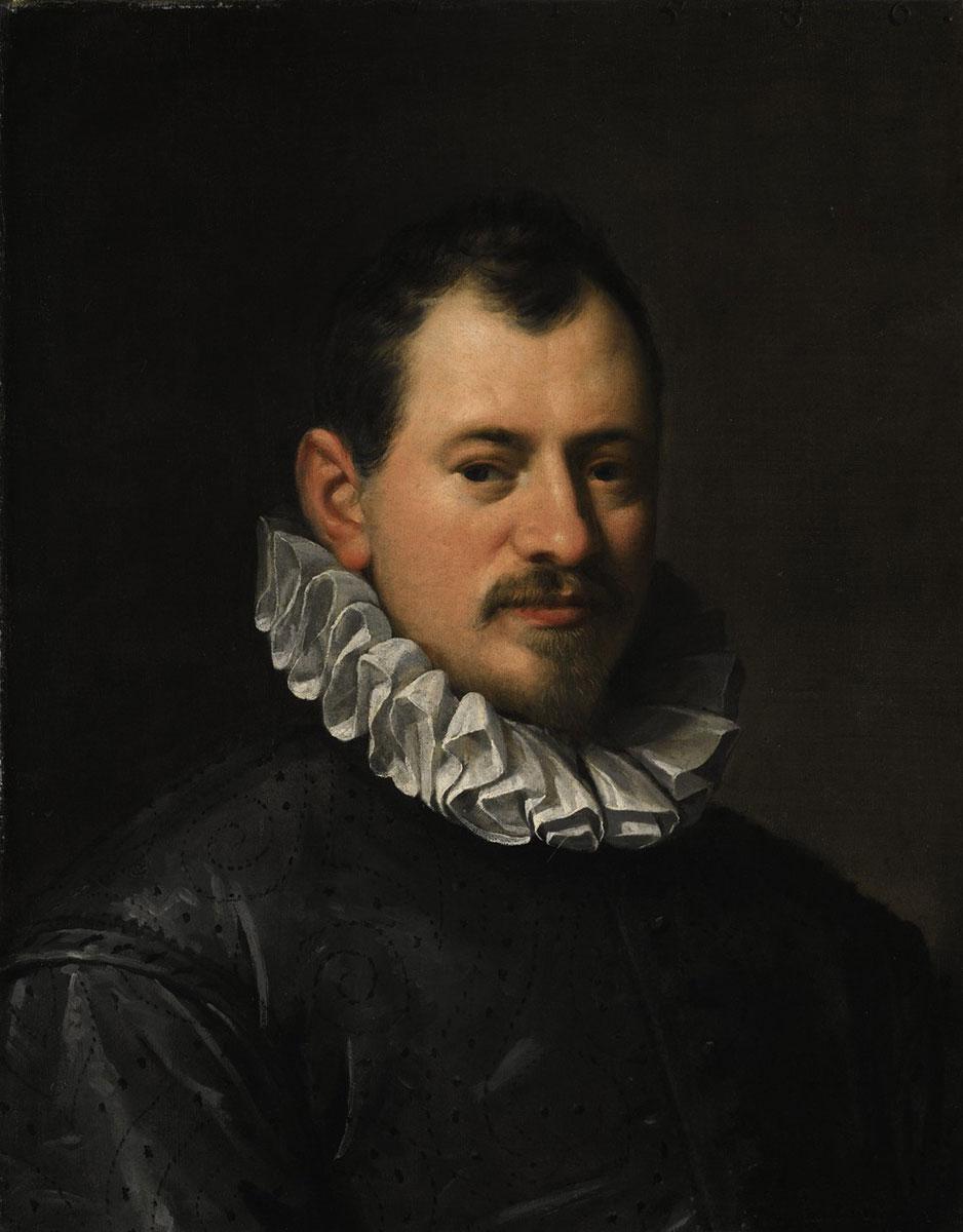 Hans von Aachen, Bildnis des Goldschmiedes Jacques Bylivelt (1550–1603), 1586