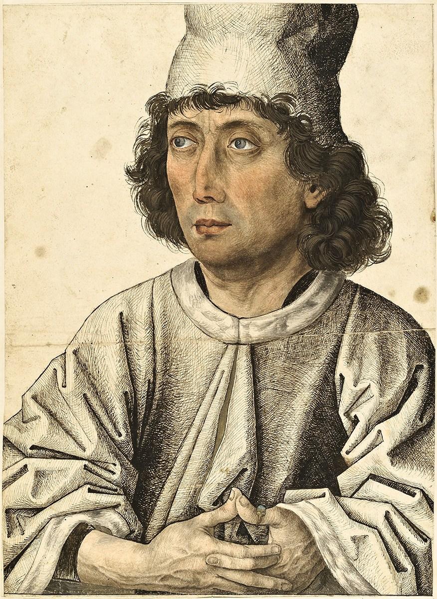 Süddeutsch (Bayern?), Meister des Mornauer Bildnisses, Bildnis eines jungen Mannes, um 1470/80