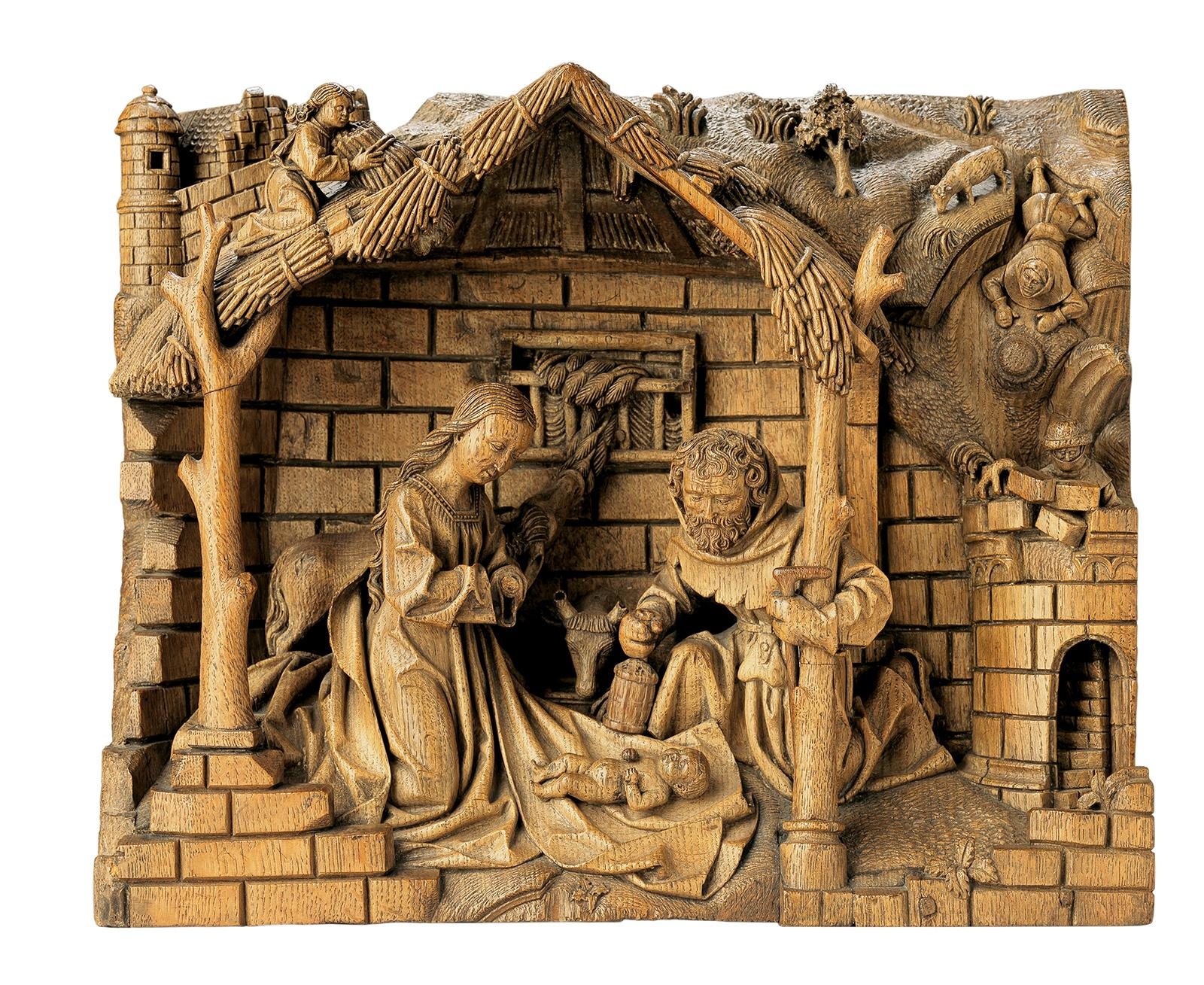 Dries Holthuys, Anbetung des Kindes, um 1490/95