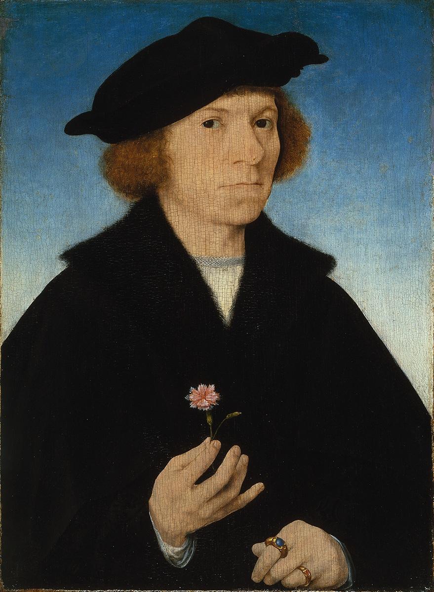 Joos van Cleve, Selbstbildnis, um 1519