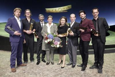 Die Preisträger des FAUST 2011 Foto: Markus Nass