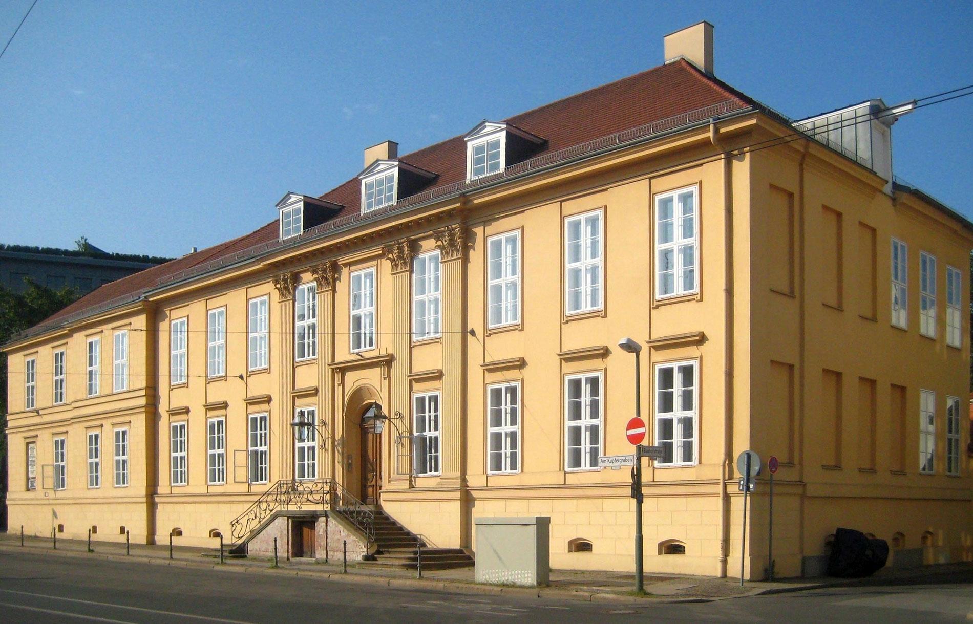 Das Magnus-Haus in Berlin, der jährliche Veranstaltungsort des Treffens