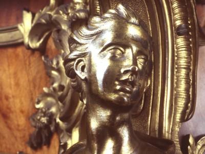 Detail vom Schreibtisch Friedrichs des Großen
