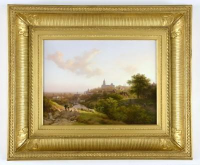 Barend Cornelis Koekkoek, Souvenir de Clèves, 1847, 30,4 x 40,6 cm; B. C. Koekkoek-Haus, Kleve © Freundeskreis Museum Kurhaus und Koekkoek-Haus Kleve e.V.