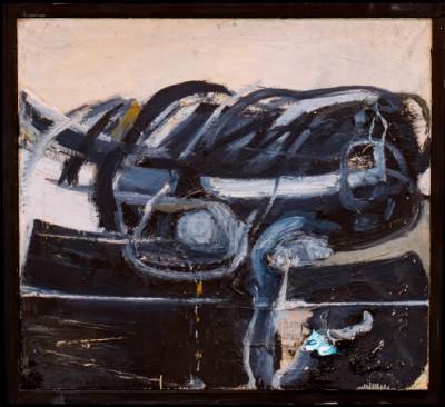 Wolf Vostell, Transmigración II, 1958, 91 x 102 x 40 cm; ZKM – Zentrum für Kunst und Medientechnologie Karlsruhe; © VG Bild-Kunst, Bonn 2014/Foto: Wolf Vostell/The Wolf Vostell Estate