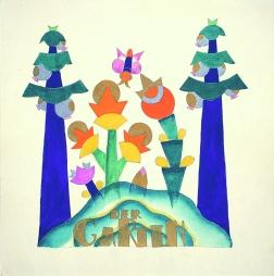 """Innenseite aus dem Bilderbuch """"Der Märchenschrein"""" von Emmy Zweybrück und Hertha Sladky, 1925; Bilderbuchmuseum Troisdorf © Christian Brandstätter Verlag, Wien"""