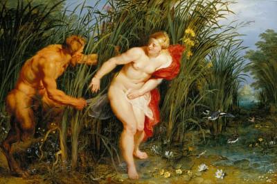 Peter Paul Rubens und Jan Brueghel d. Ä., Pan und Syrinx, um 1617, Förderung 2004 für die Staatlichen Museen Kassel (heute: Museumslandschaft Hessen Kassel) (© Museumslandschaft Hessen Kassel)
