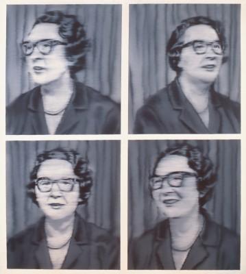 Gerhard Richter, Porträt Dr. Knobloch, 1964, Förderung 2009 für die Staatlichen Kunstsammlungen Dresden (© Gerhard Richter)