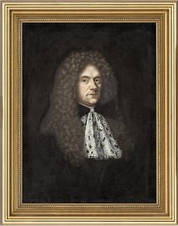 Porträt von Augustin von Balthasar, Mitte des 18. Jahrhunderts; © Stadtgeschichtliches Museum Wismar/ Foto: Kay Zimmermann