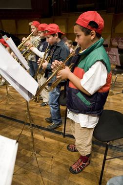 Bochumer Grundschüler präsentieren ihr Können beim großen Schuljahresabschlusskonzert