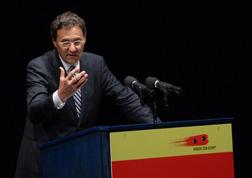 Hans-Joachim Otto auf dem 3. KINDER ZUM OLYMP!-Kongress in Saarbrücken