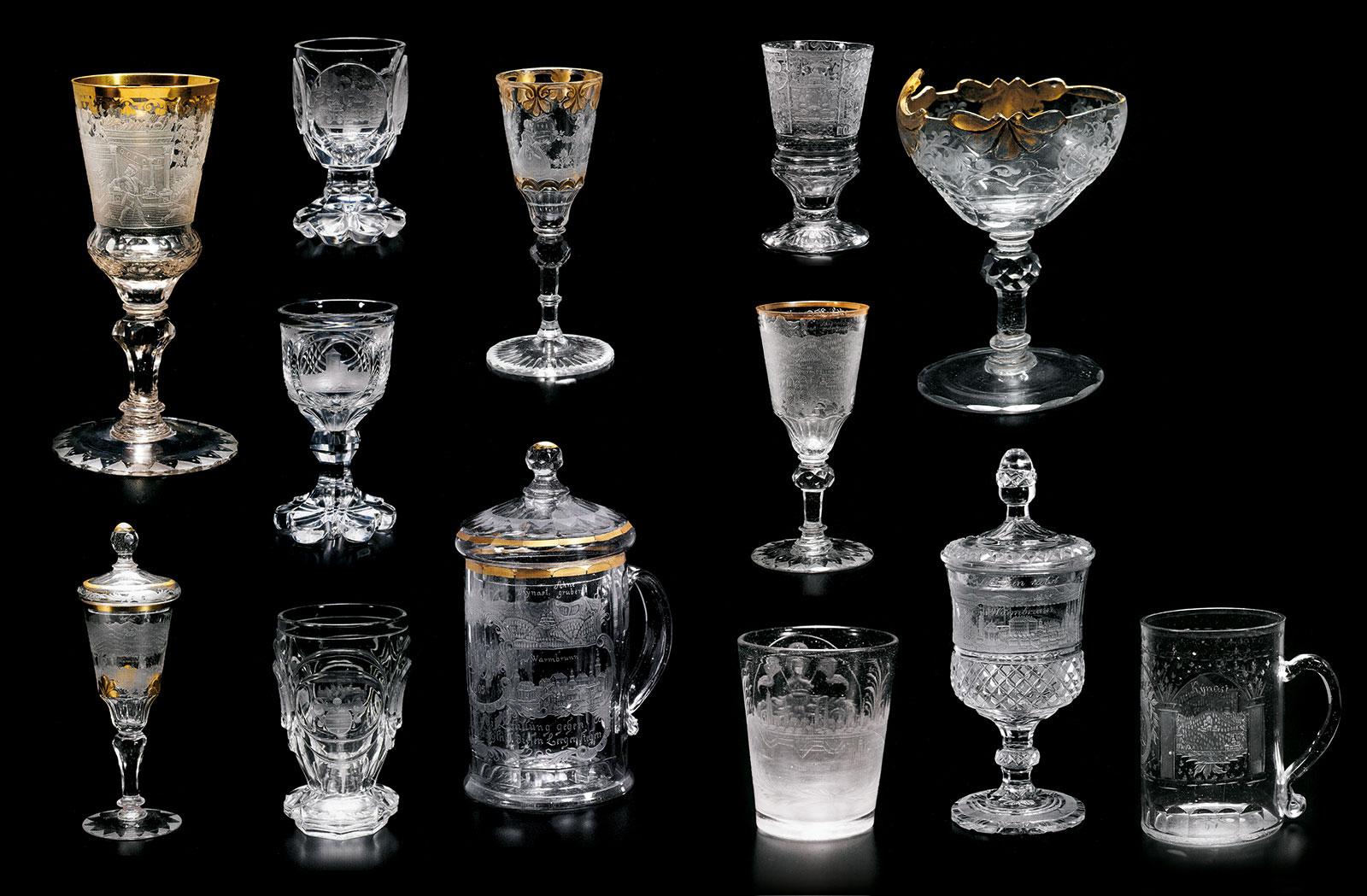Gläser aus der Sammlung Dietmar Zoedler