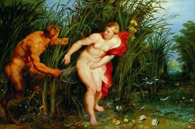 Peter Paul Rubens, Pan und Syrinx, um 1617; erworben 2004 von der Museumslandschaft Hessen-Kassel © Museumslandschaft Hessen Kassel