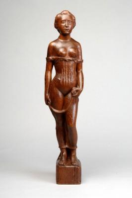 Aristide Maillol, Jeune fille debout, um 1902