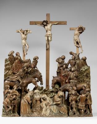 Kalvarienberg, Niederlande, um 1430-40; Museum Schnütgen, Köln © Rheinisches Bildarchiv, Köln/W.Meier