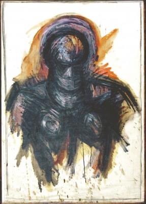 Lothar Böhme, Halbakt, 1995