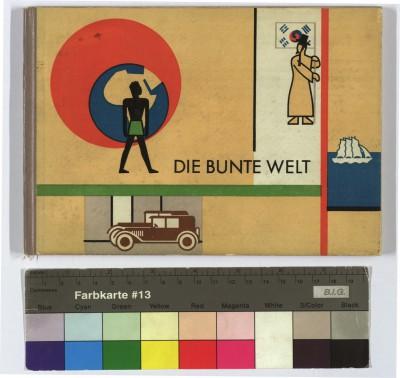 Die bunte Welt, illustriert von Gerd Arntz, Text von Otto Neurath. Artur Wolf Verlag. Wien 1929 © Sammlung Friedrich C. Heller, Bilderbuchmuseum Troisdorf