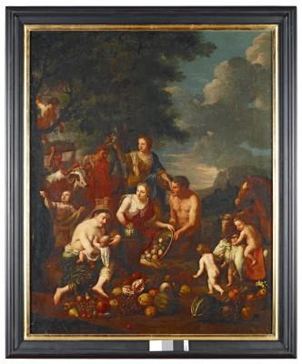 Allegorie der Erde, Johann Heiss, 1690, 114 x 91 cm © Stadtmuseum Memmingen, Heribert Thanner