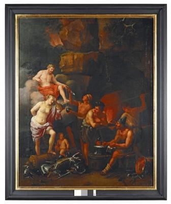Allegorie des Feuers, Johann Heiss, 1690, 114 x 91 cm © Stadtmuseum Memmingen, Heribert Thanner