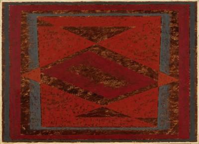 Josef Albers, Lozenge Horizontal, 1946, 58,4 x 78,7 cm; Josef Albers Museum Quadrat Bottrop © The Josef and Anni Albers Foundation, VG Bild-Kunst, Bonn 2013