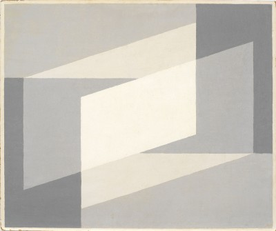 Josef Albers, Neither...Nor, 1948, 50,8 x 61 cm; Josef Albers Museum Quadrat Bottrop © The Josef and Anni Albers Foundation, VG Bild-Kunst, Bonn 2013