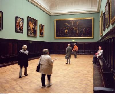 Blick in den Gobelin-Saal des Berliner Bode-Museums