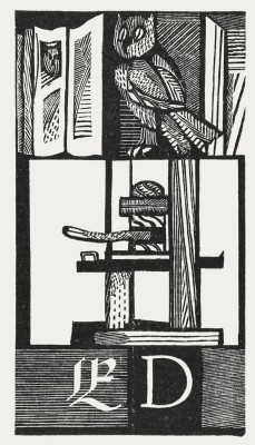Otto Rohse, Exlibris für Ekkehard Decke
