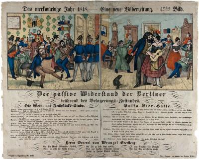 """""""Das merkwürdige Jahr 1848"""": Die Druckerei Kühn begleitete die revolutionären Ereignisse in Deutschland mit einer knapp 100 Nummern umfassenden Serie"""