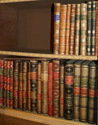 Richard Wagners Privatbibliothek in Haus Wahnfried; Richard Wagner Museum, Bayreuth