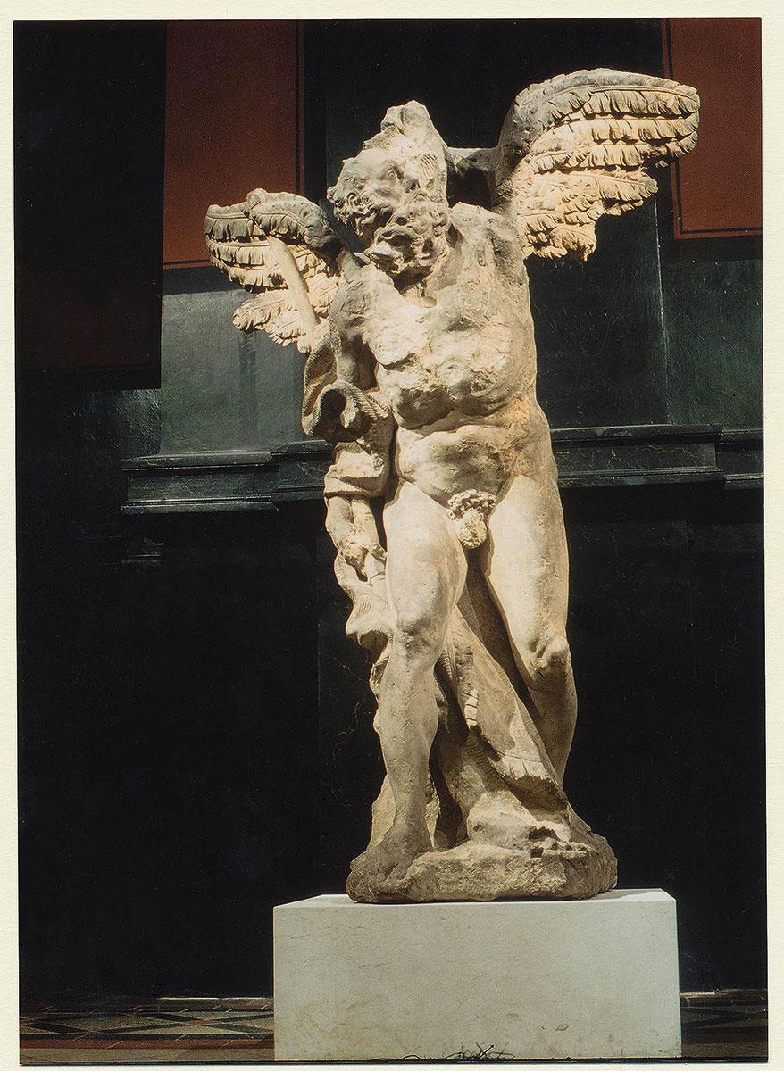 Balthasar Permoser, Chronos, um 1695, Höhe 235 cm; Staatliche Kunstsammlungen Dresden