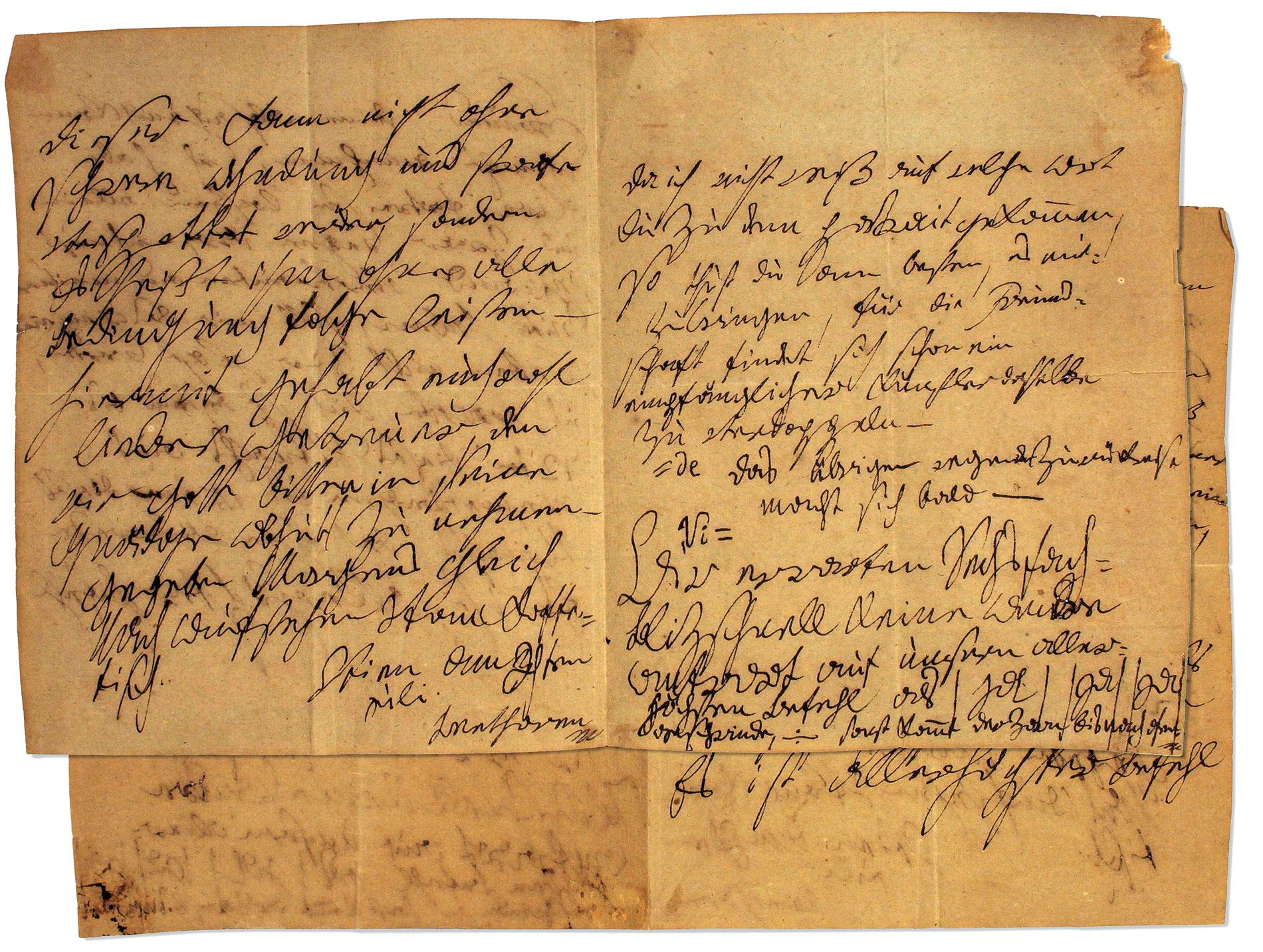 Ludwig van Beethoven, Brief an Franz Graf Brunsvik in Ofen, Wien, am oder kurz nach dem 4. Juli 1811; Beethoven-Haus Bonn