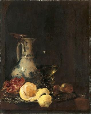 Willem Kalf, Stillleben mit Porzellankanne, 1653, Alte Pinakothek, München