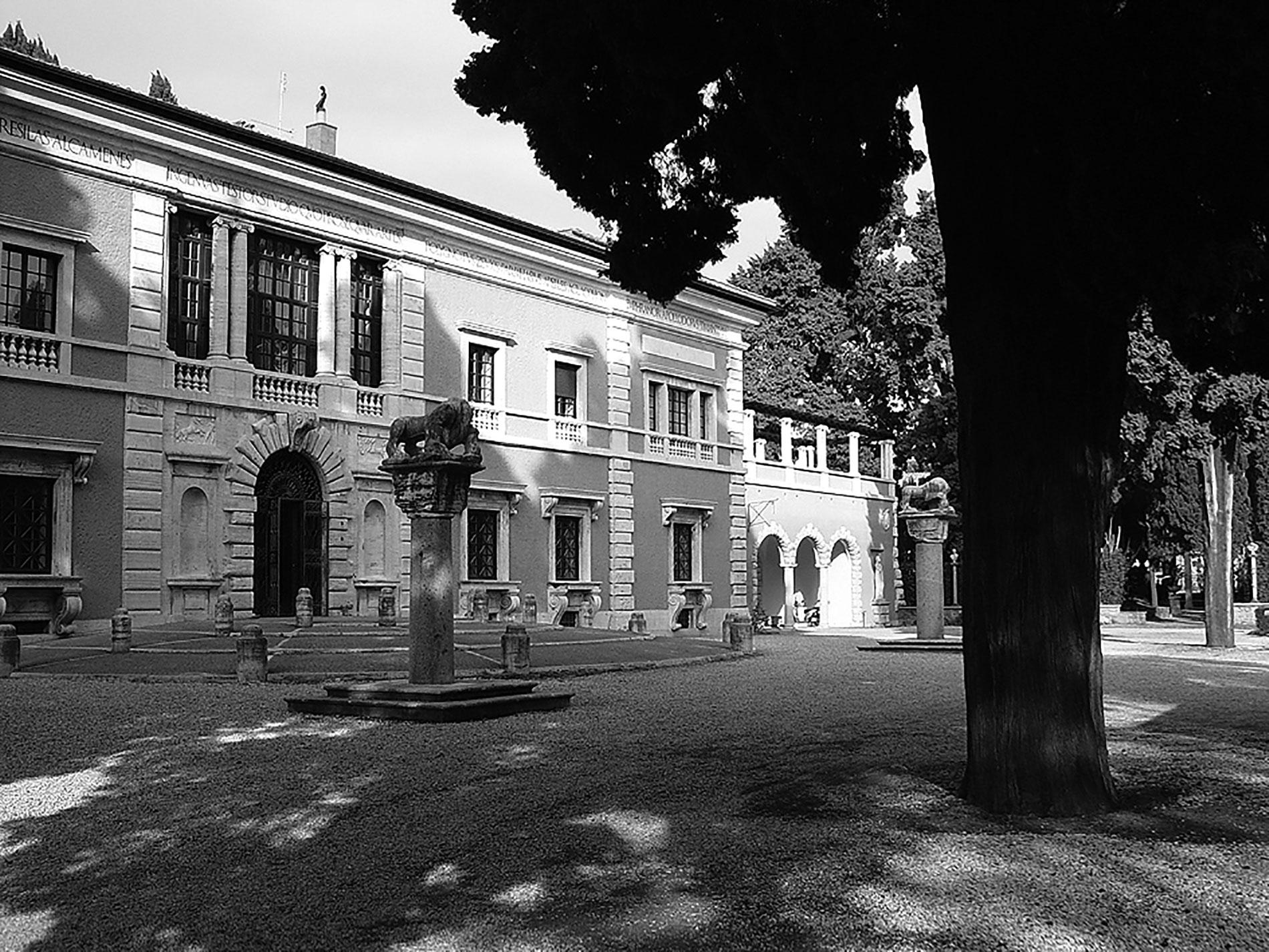 Die Villa Massimo in Rom