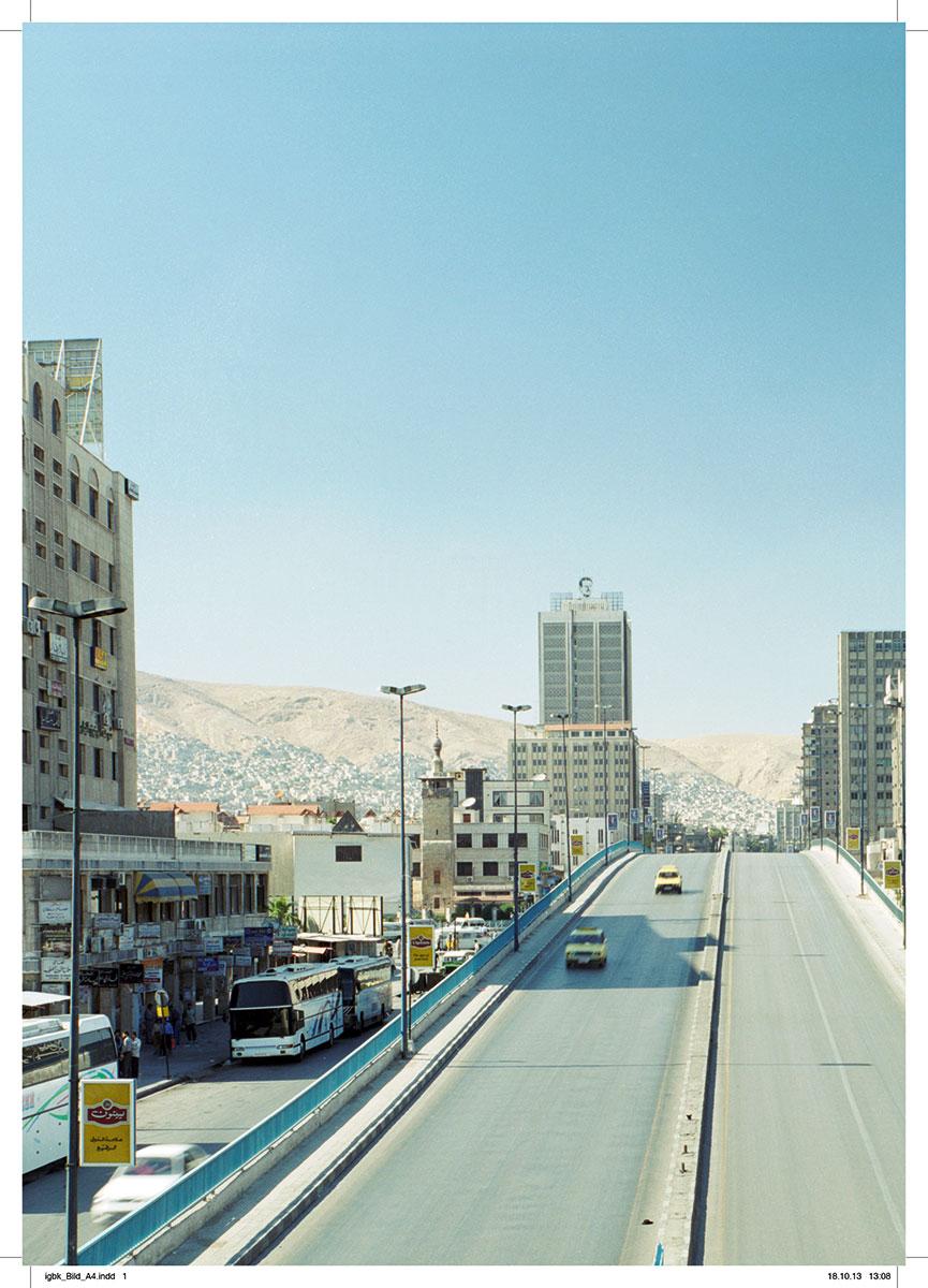 """Abbildung aus der Publikation """"Artists in Transit"""" der IGBK"""