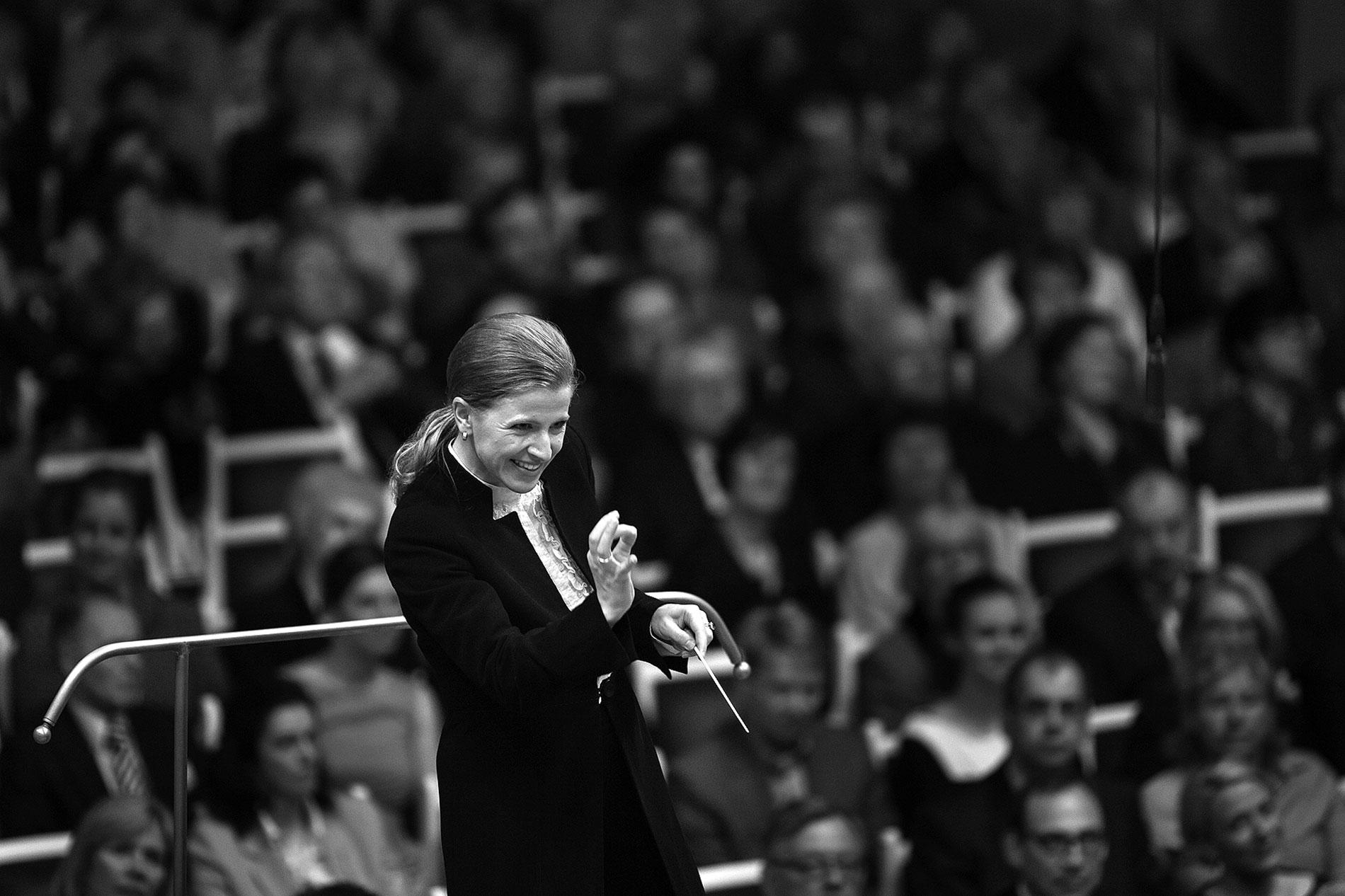 Kristiina Poska, Gewinnerin des Deutschen Dirigentenpreises 2013