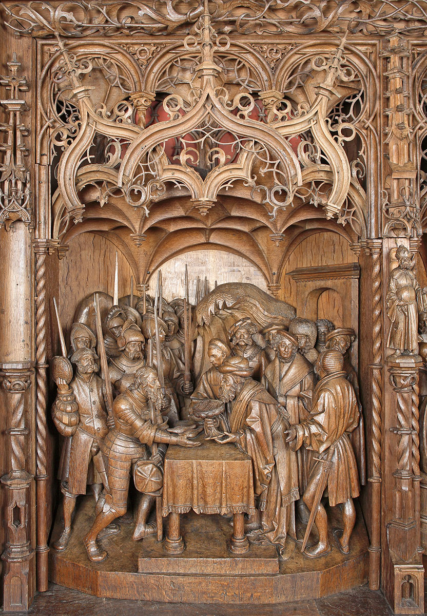 Hans Brüggemann, Predella des Bordesholmer Altars, 1521, Schleswiger Dom, Schleswig