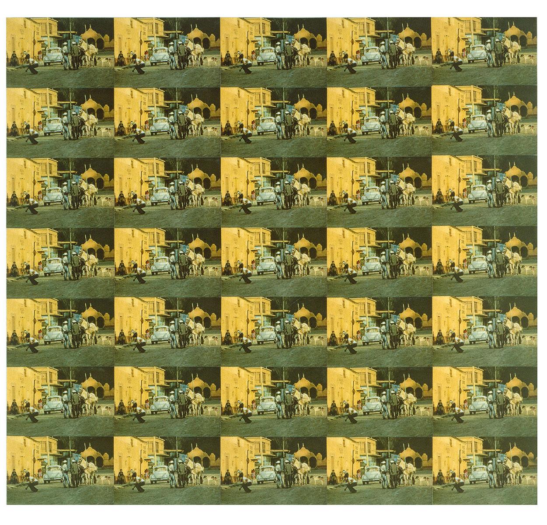 Peter Roehr, Ohne Titel (FO-77), 1965, 45,3 x 48,9 cm; Museum für Moderne Kunst, Frankfurt am Main