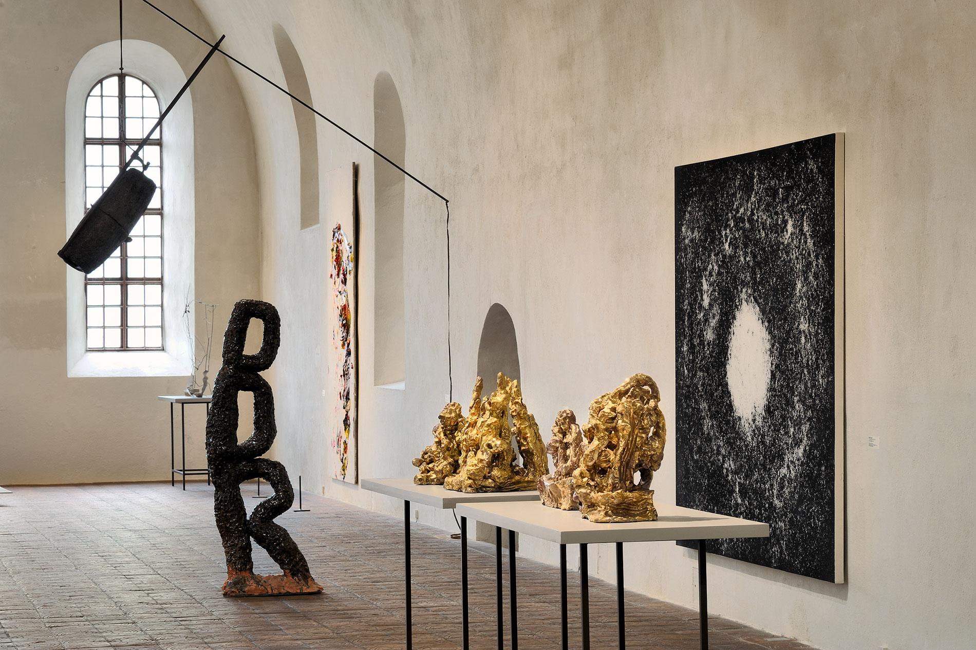 Blick in die Sammlung Kunst der Gegenwart im Kunstmuseum Kloster Unser Lieben Frauen Magdeburg, 2012