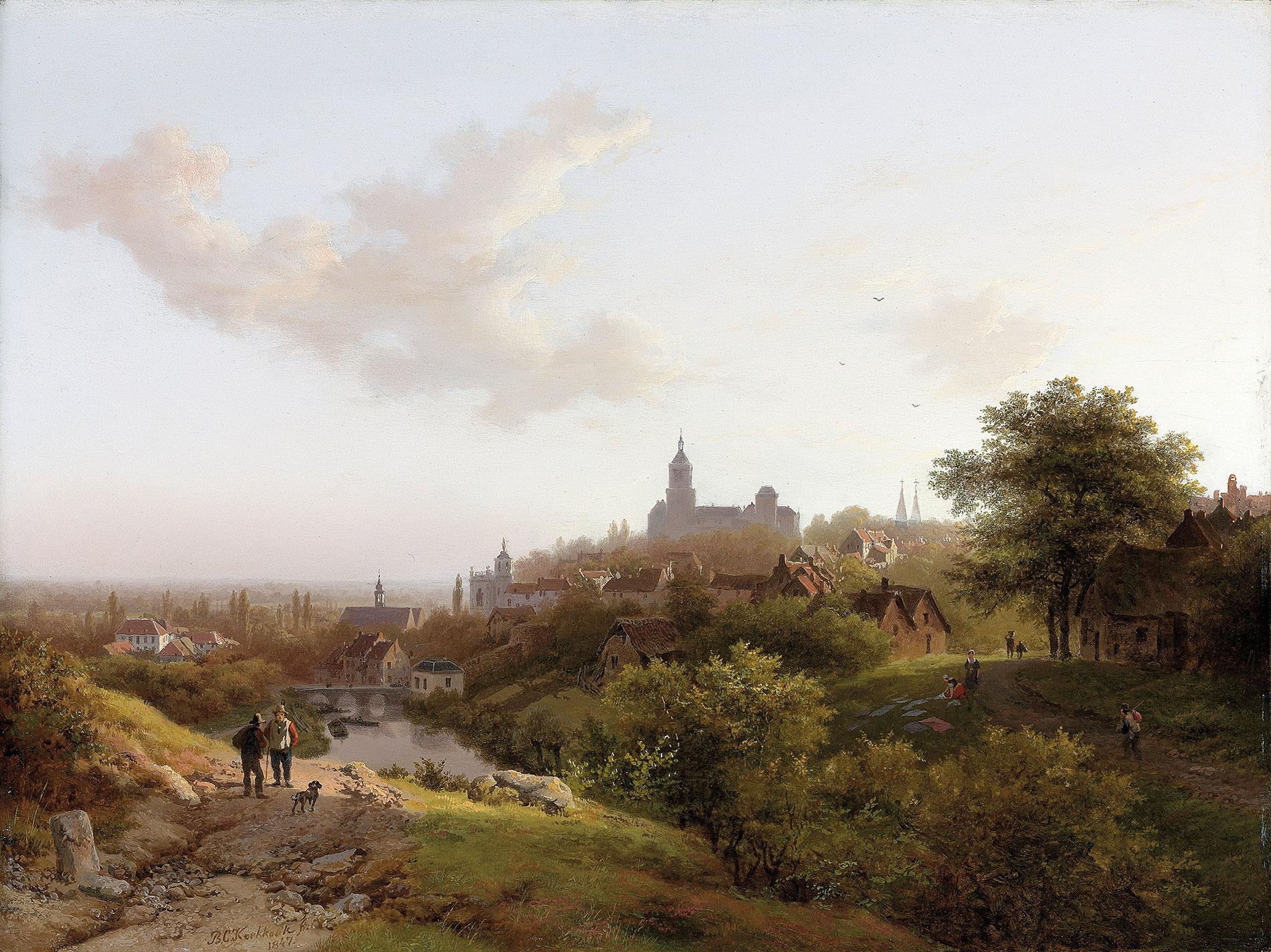 Barend Cornelis Koekkoek, Souvenir de Clèves, 1847, 30,4×40,6 cm; B.C. Koekkoek-Haus, Kleve