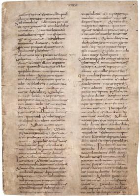 Lorscher Bibelfragment, um 800