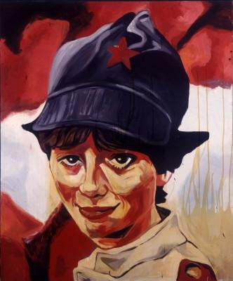 Martin Kippenberger, Sympathische Kommunistin, 1983, 180 x 150 cm; Museum Ludwig, Köln © Estate of Martin Kippenberger, Galerie Gisela Capitain, Cologne