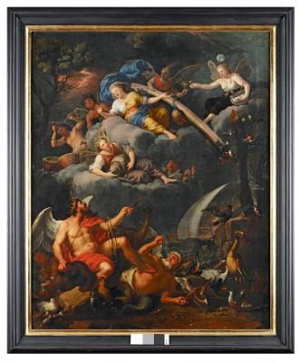 Allegorie der Luft, Johann Heiss, 1690, 114 x 91 cm © Stadtmuseum Memmingen, Heribert Thanner