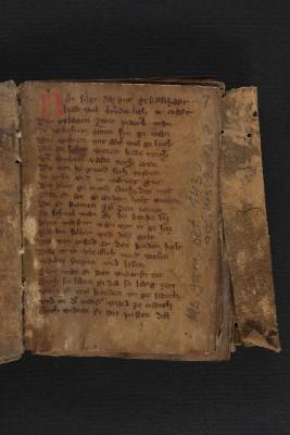 Märenhandschrift, 13. Jahrhundert, Staatsbibliothek zu Berlin