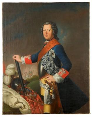 David Matthieu, Friedrich II. von Preußen, 1743